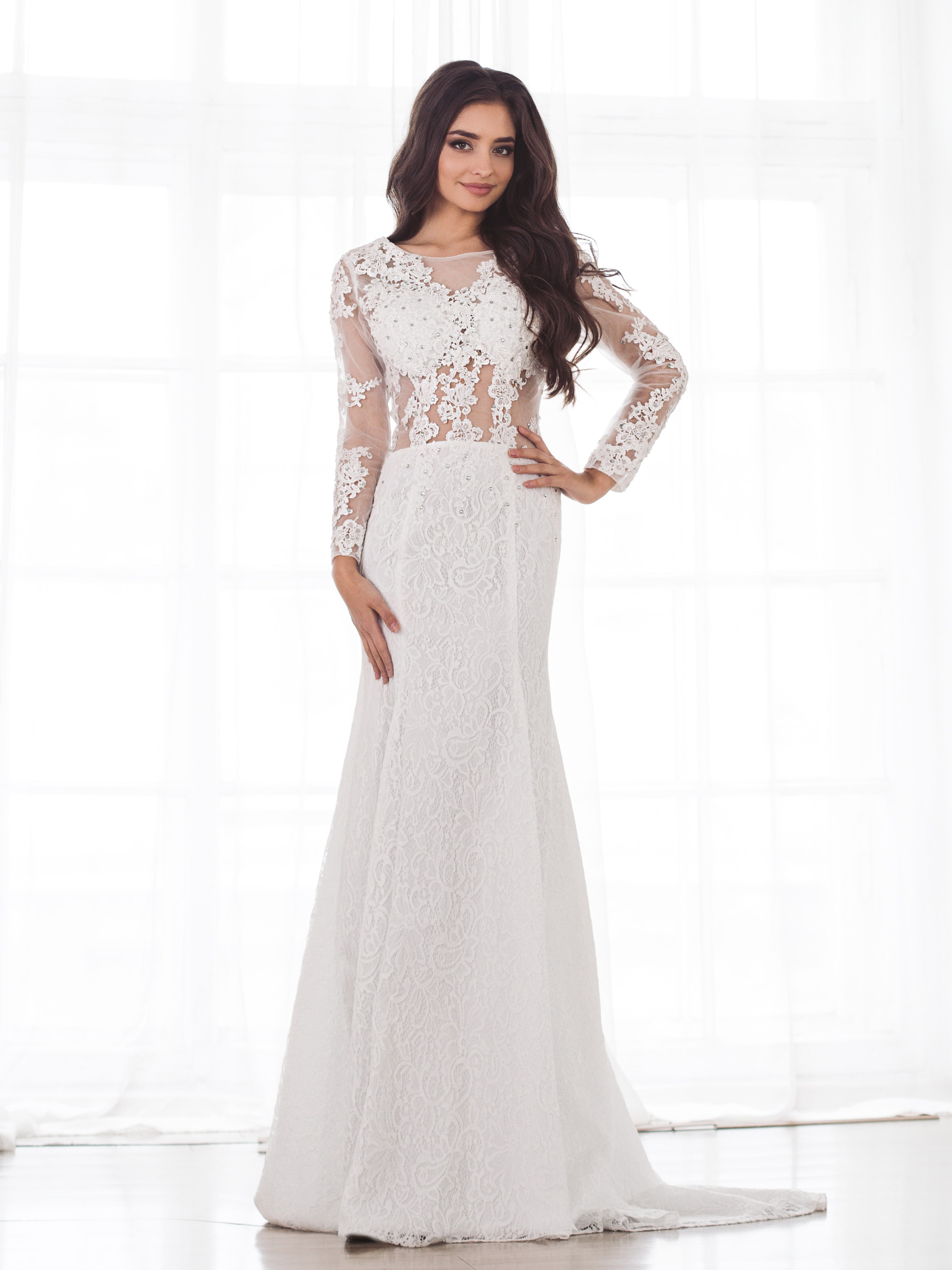 Свадебное платье Мюзетта