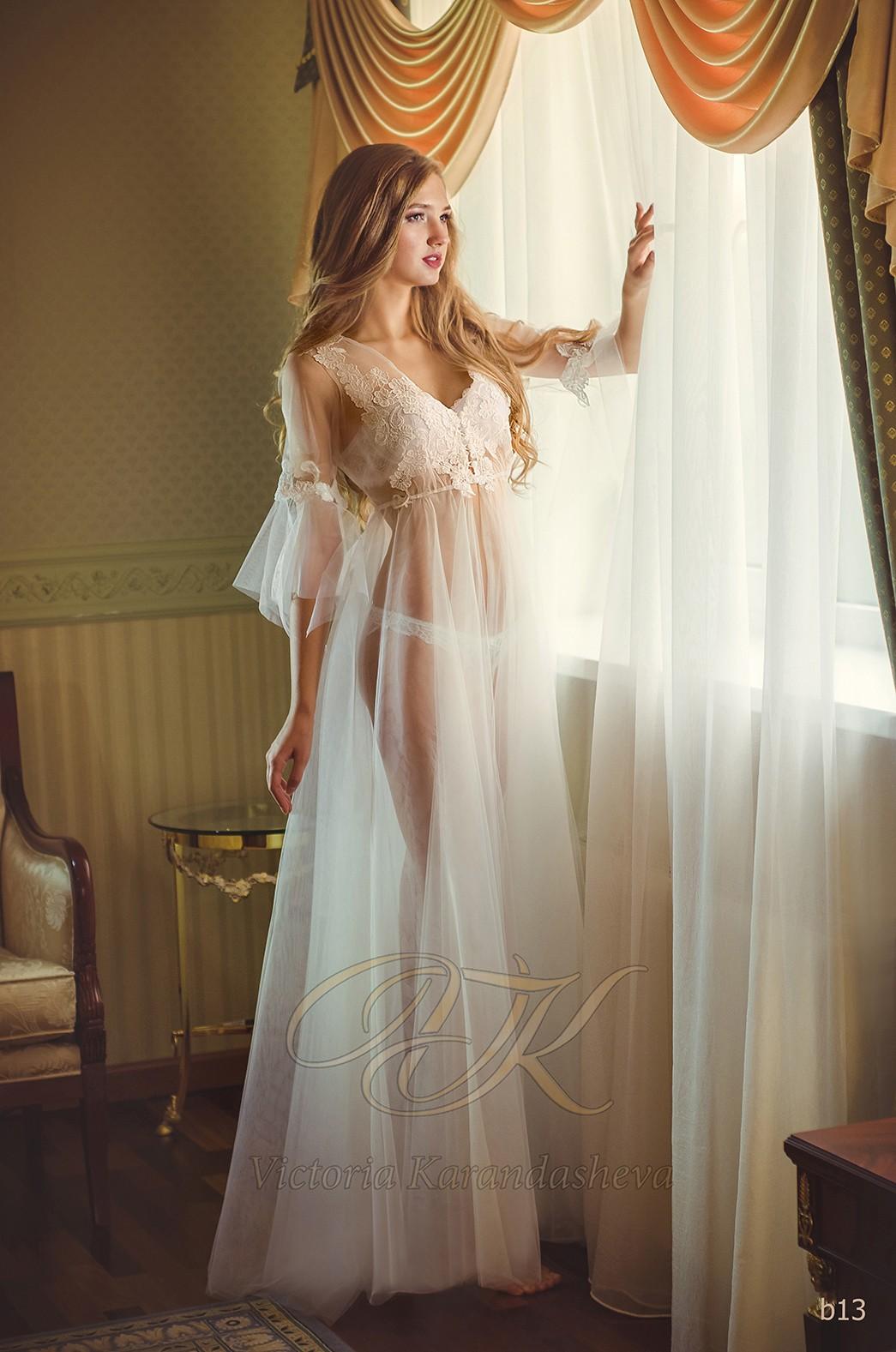 Фатиновое будуарное платье