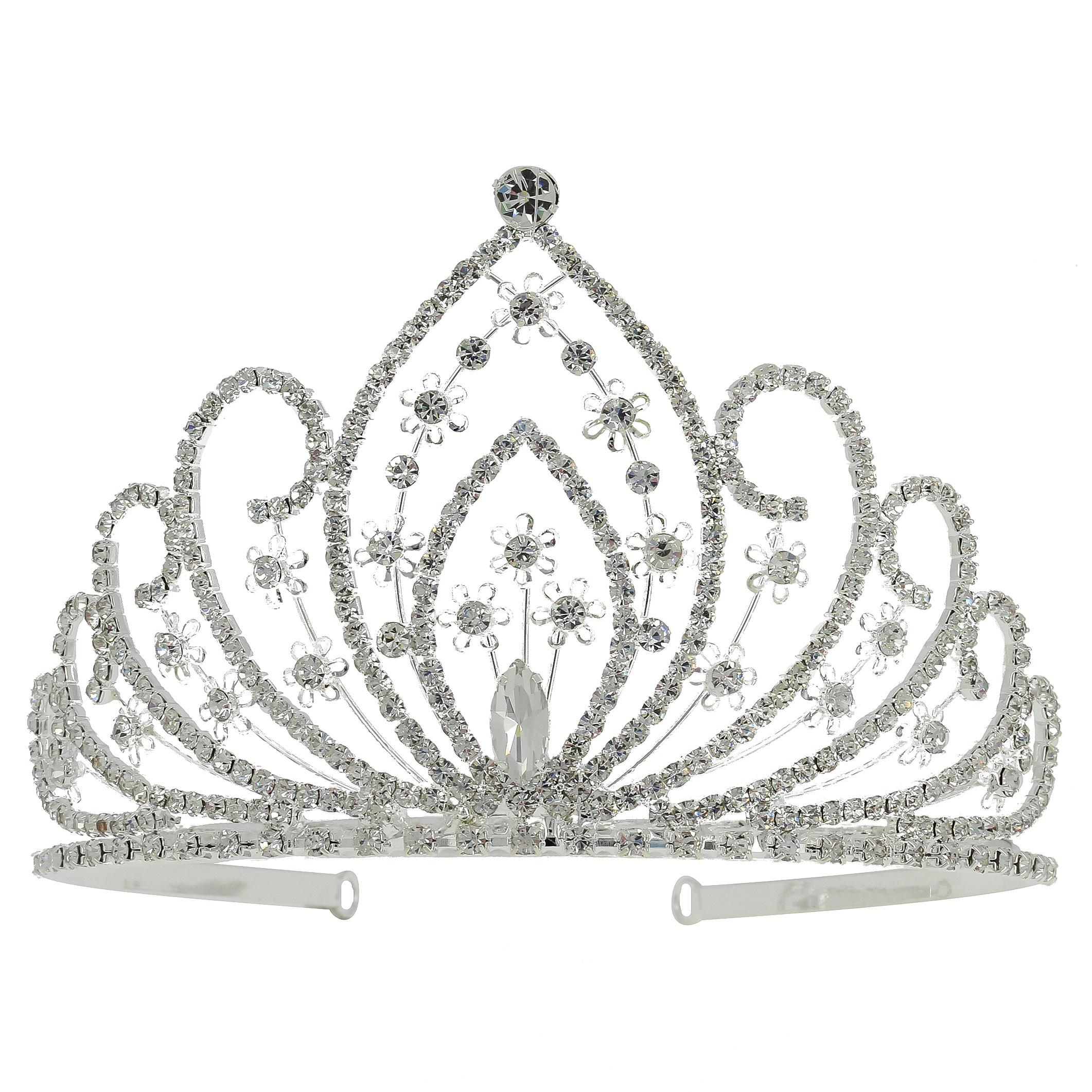 Диадема в королевском стиле