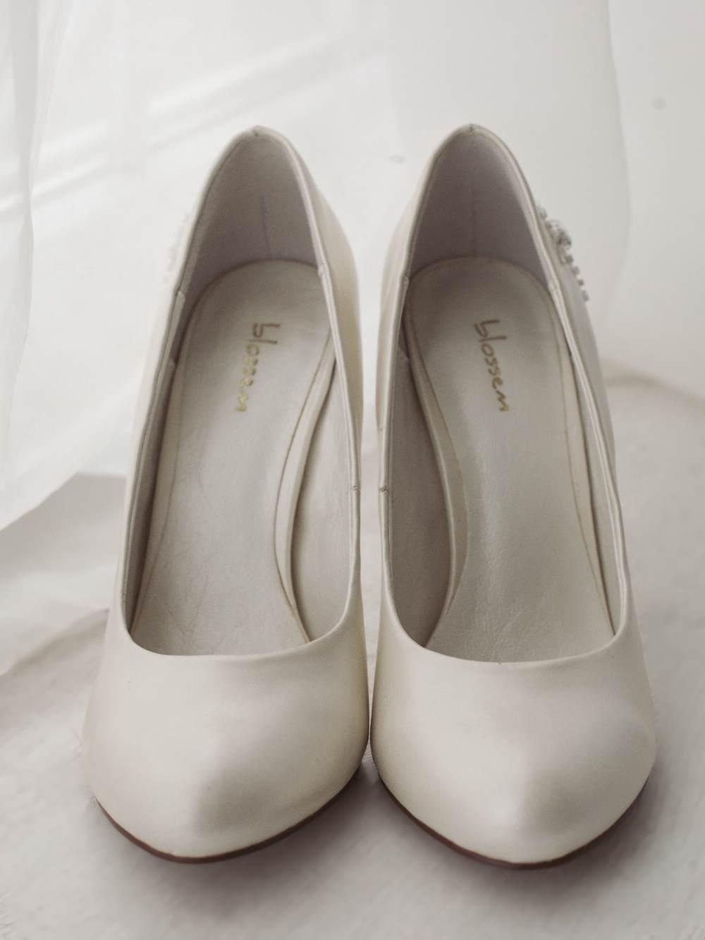 Туфли свадебные гладкие