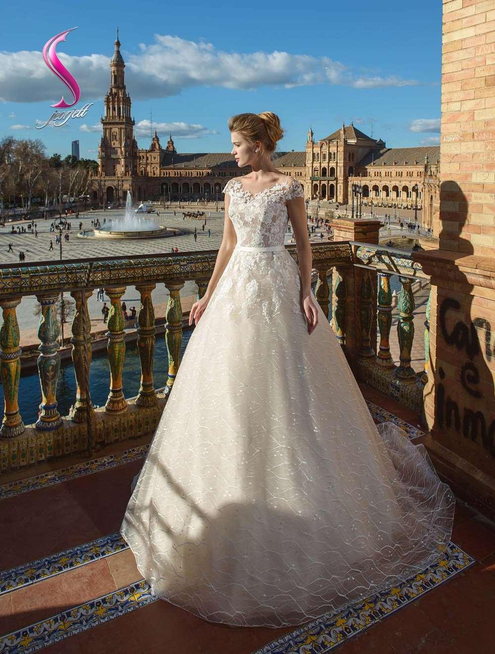 Свадебное платье Петуния