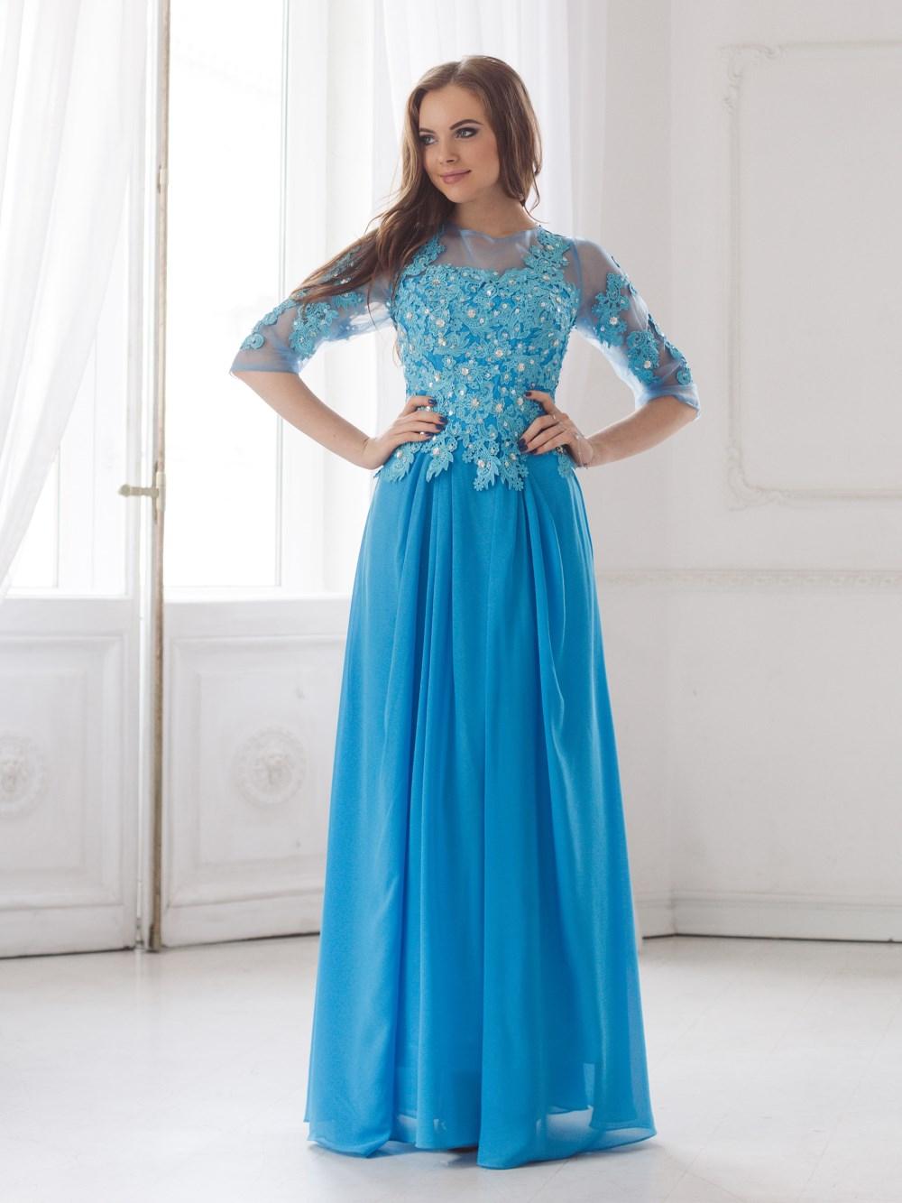 Вечернее платье Эльза