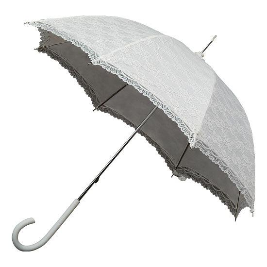 Зонт кружевной трость