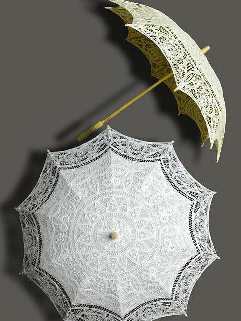 Зонт ажурный складной
